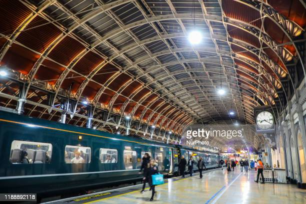 Platform 1 on Paddington station in London, United Kingdom on 10 December, 2019.