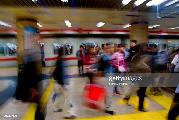 Platform in Subway.
