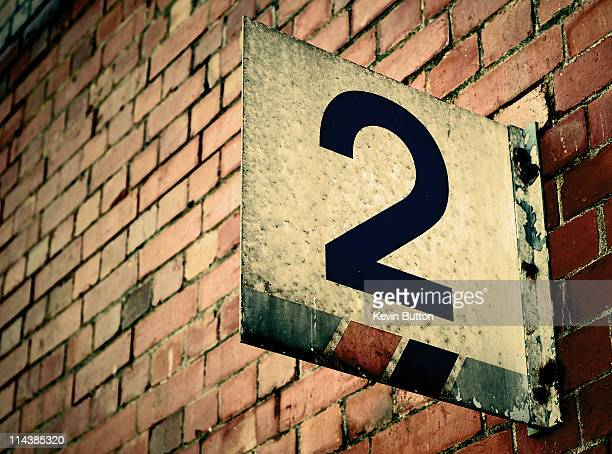platform no.two - number 2 stock pictures, royalty-free photos & images
