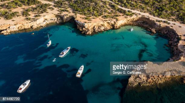 platges de compte, ibiza - ibiza island stock pictures, royalty-free photos & images