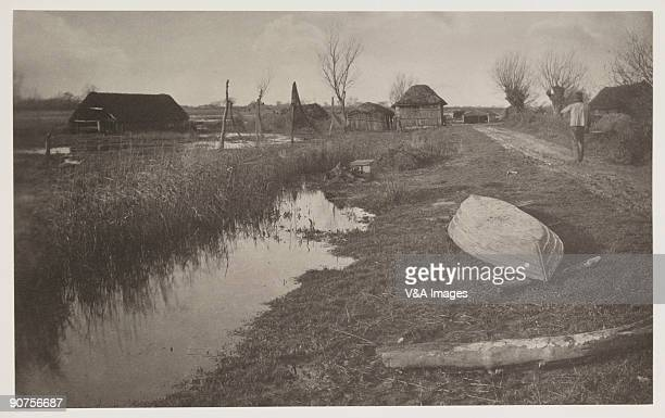 Platinum print. Photograph by Peter Henry Emerson. An illustration from 'Life and Landscape on the Norfolk Broads'.