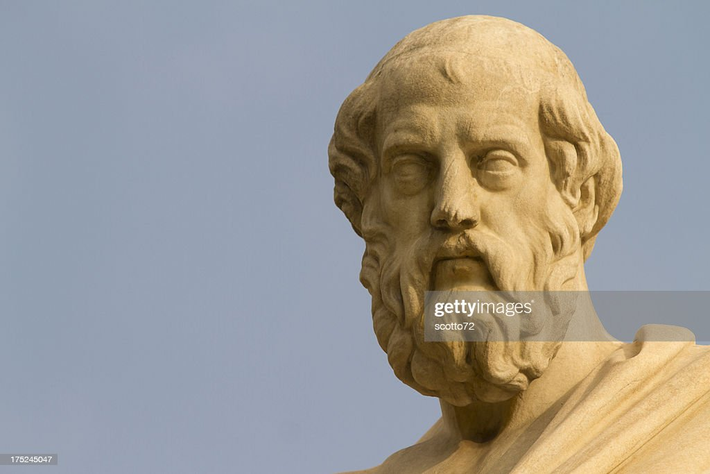 Plato, Greek Philosopher : Stock Photo