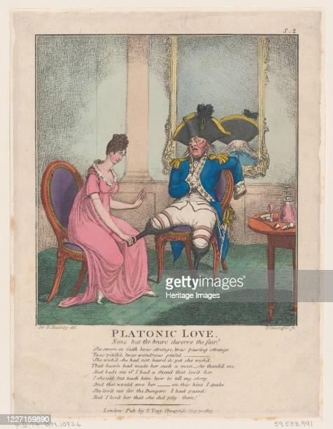 Platonic Love May 30 1807 Artist Thomas Rowlandson