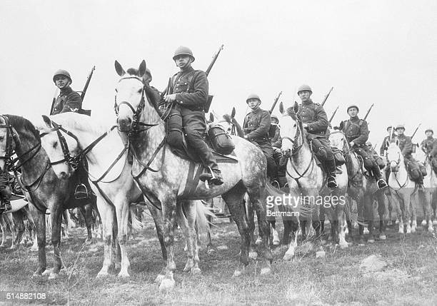 A platoon of Polish cavalry troops rides to the plains of Eastern Prussia to await invasion by Adolf Hitler in 1939