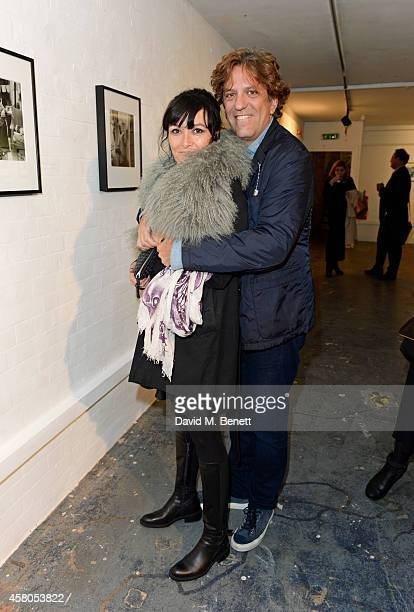 Plaxy Locatelli and Giorgio Locatelli attend the Day of the Dead Festival produced by the Mexican Embassy in the UK and supported by Jose Cuervo at...