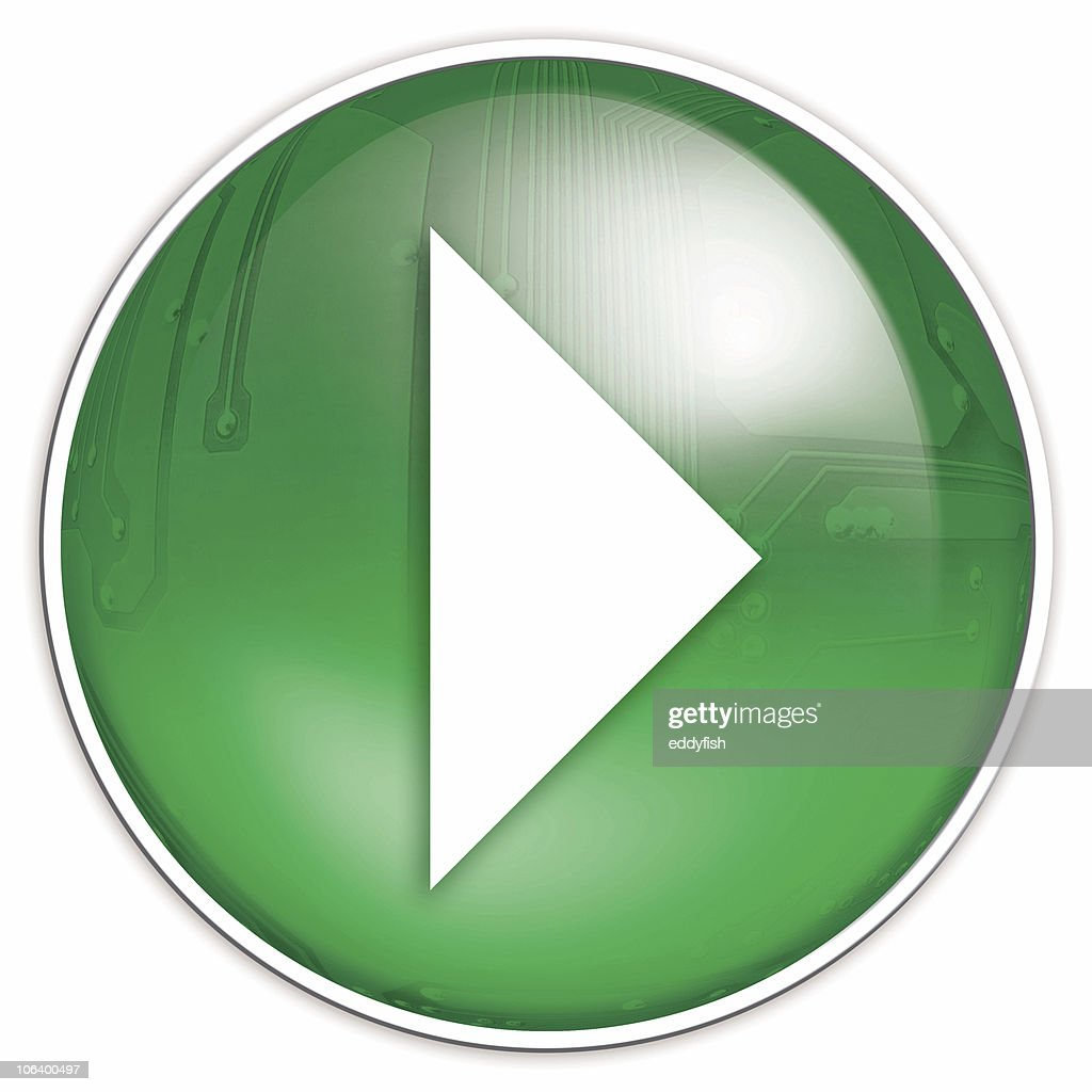 play button : Stock Photo