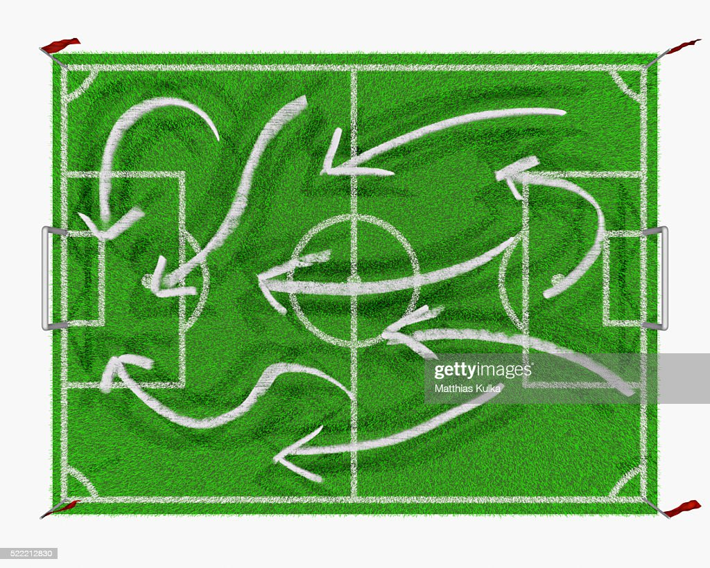 Play calling on soccer field diagram stock photo getty images play calling on soccer field diagram stock photo ccuart Image collections