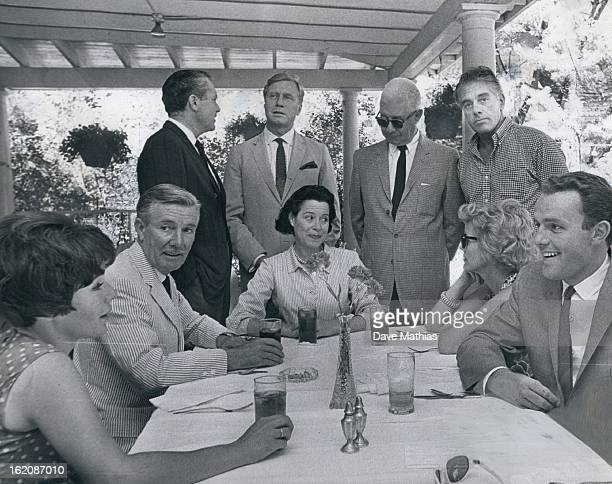 AUG 6 1965 Play Casts Picnic at Elitch's Members of the Central City and Elitch Theatre play casts were guests at a picnic lunch at Elitch Gardens...
