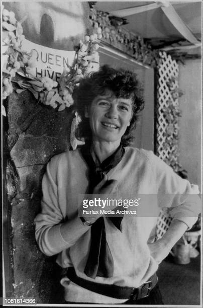 Play Director Helen Martin who is directing a play called The Bee and the Butterfly at the Marian St Theatre in Killara today August 13 1986