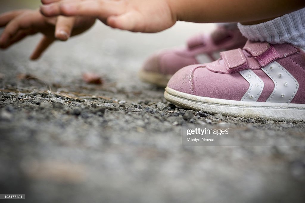 play in the dirt again : Stock Photo