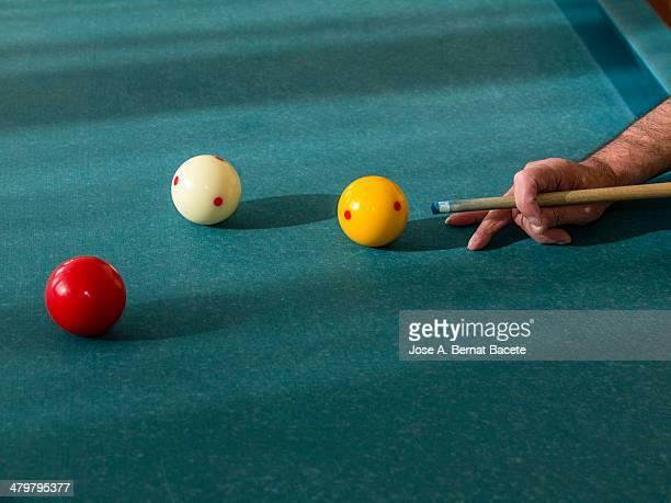 Play of billiards