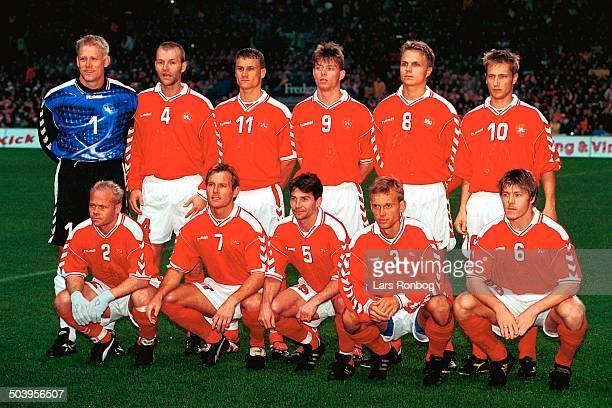 Play Off EURO 2000 Danmark Israel Parken Koebenhavn Landsholdet foer kampen
