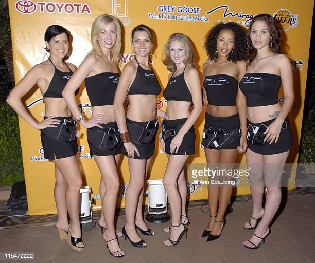 PSP Play Station Girls during 17th Annual Los Angeles Lakers Hosted Dinner Party and Silent Auction at Southern Highlands Golf Course in Las Vegas...