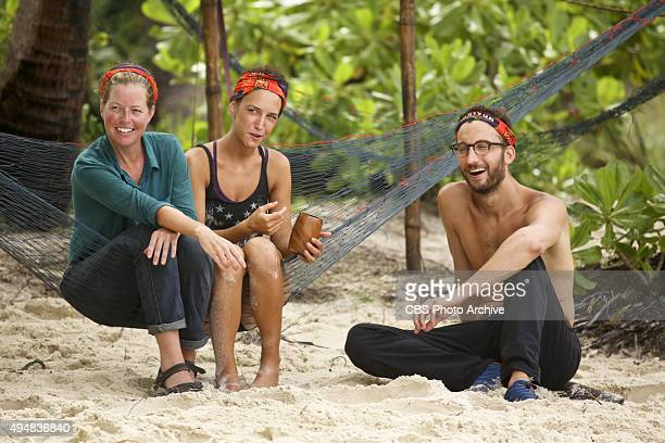 'Play to Win' Kass McQuillen Ciera Eastin and Stephen Fishbach during the seventh episode of SURVIVOR Wednesday Nov 4 The new season in Cambodia...