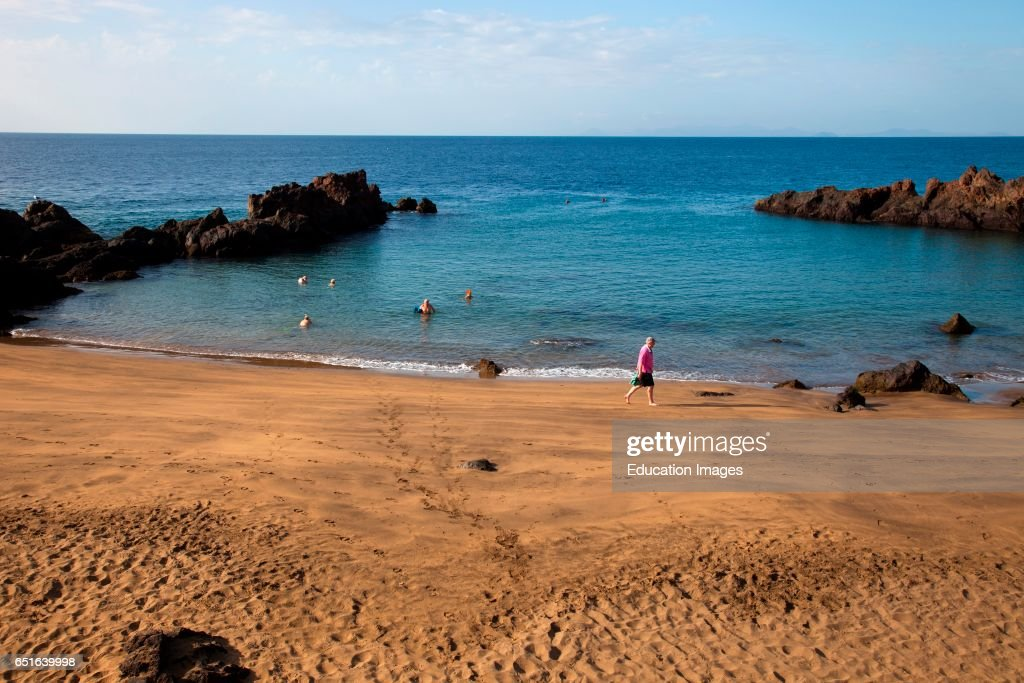 Playa Chica Puerto Del Carmen Lanzarote Canary Spain News Photo Getty Images