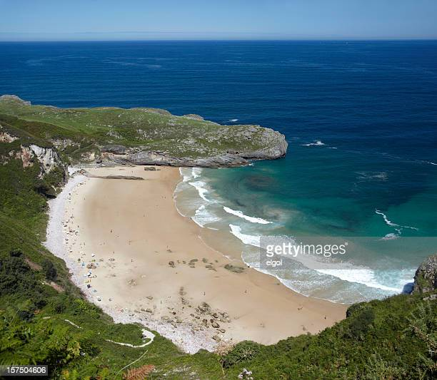 Playa de Balotta, Asturias, Costa Verde, España