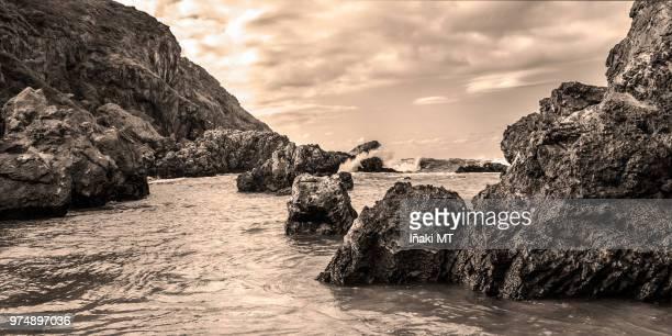playa de barro - iñaki mt stock photos and pictures