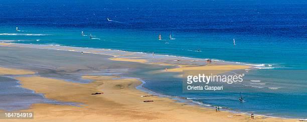 Playa de jandía, isla de Fuerteventura