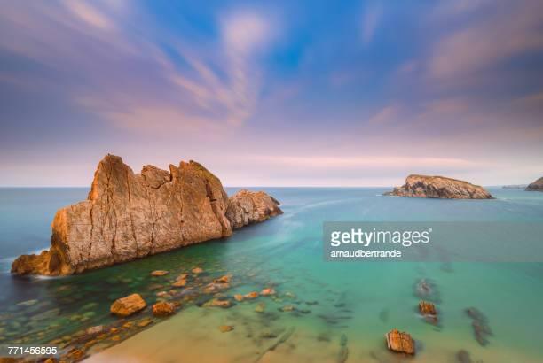 Playa de la Arnia, Santander, Cantabria, Spain
