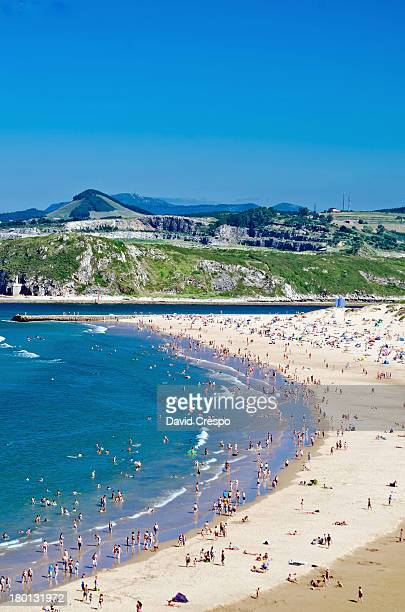 playa de la concha - pais vasco fotografías e imágenes de stock