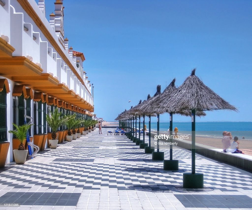 Playa De La Luz Hotel In Rota Spain High Res Stock Photo Getty Images