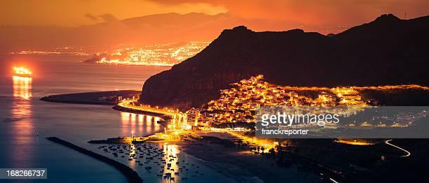 Playa de Las Teresitas - At sunset