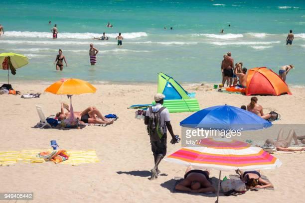 playa de muro mallorca beach - muro stock photos and pictures