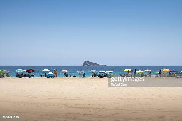 Playa de Poniente, Benidorm, Alicante, Spain