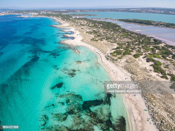 playa de ses illetes, formentera - balearic islands stock pictures, royalty-free photos & images