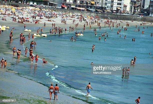 playa de silgar - manuel velasco fotografías e imágenes de stock
