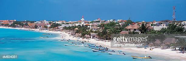 playa del carmen, quintana roo, mexico - playa del carmen stock pictures, royalty-free photos & images