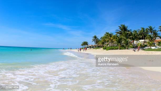 playa del carmen, yucatan, mexico - playa del carmen stock pictures, royalty-free photos & images