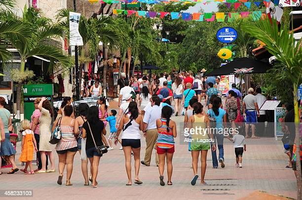 Playa Del Carmen,5th Avenue, Mexico.