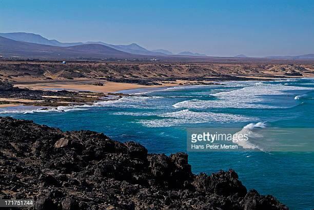 Playa del Castillo, Fuerteventura, Canary Islands