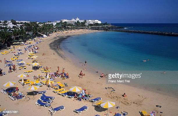 Playa Dorada beach, Playa Blanca