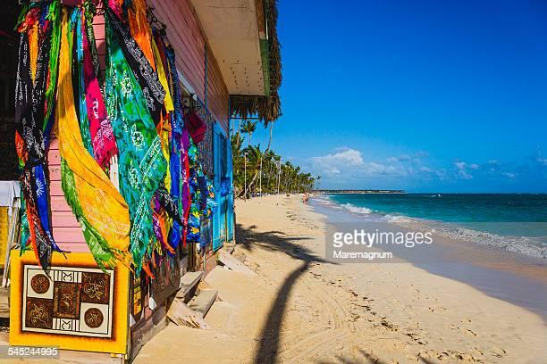 playa (beach) el cortecito - punta cana fotografías e imágenes de stock