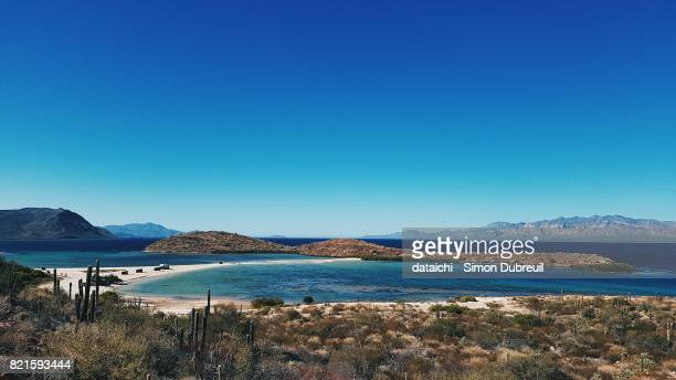 playa el requeson - sea of cortez stock pictures, royalty-free photos & images