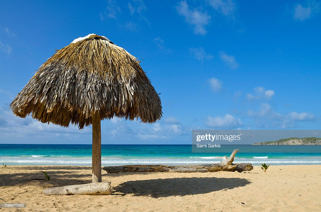 Playa Macao Beach Punta Cana Dominican Republic Stock Photo