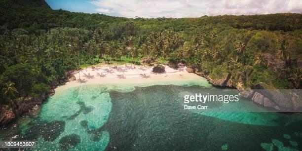 playa madama - paisajes de republica dominicana fotografías e imágenes de stock