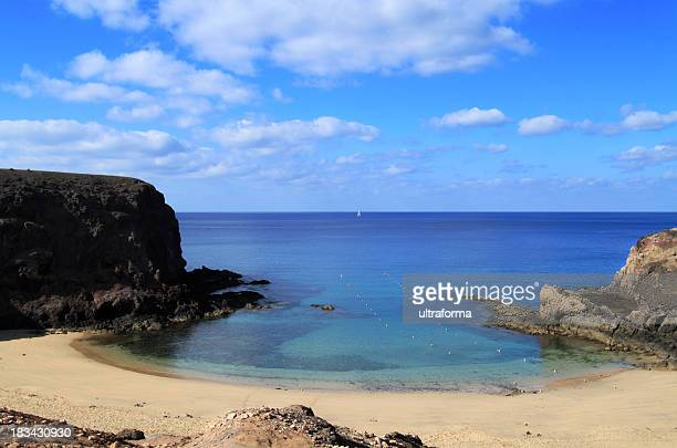 Playa Papagayo in Lanzarote, Canary Islands