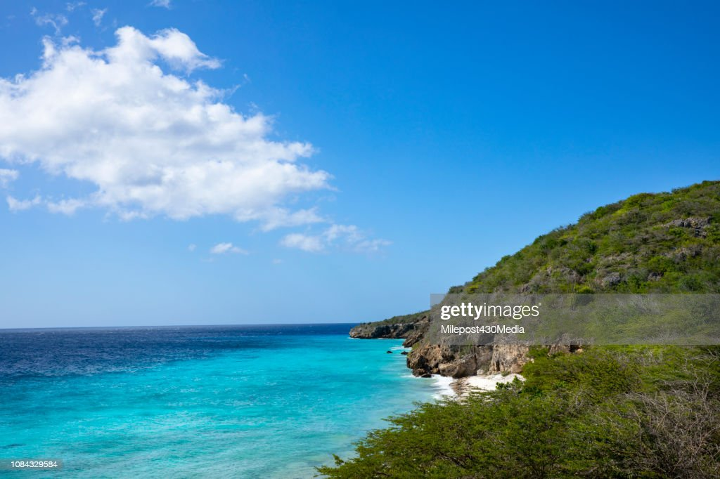 Playa Porto Mari in Curacao : Stock Photo