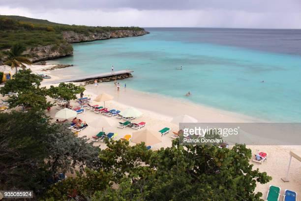 playa porto marie, curacao - curaçao stockfoto's en -beelden