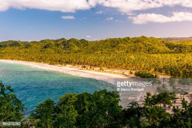 playa rincon, samanà peninsula, dominican republic. - ドミニカ共和国 ストックフォトと画像