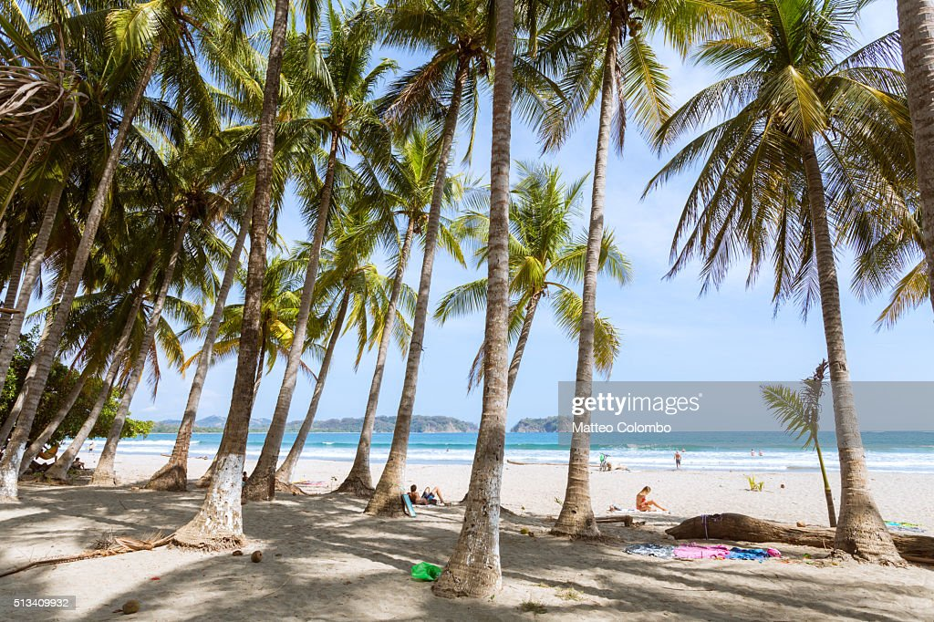 Playa Samara, Nicoya peninsula, Guanacaste, Costa Rica : Stock Photo