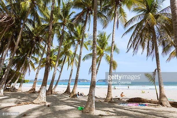 playa samara, nicoya peninsula, guanacaste, costa rica - guanacaste stock pictures, royalty-free photos & images