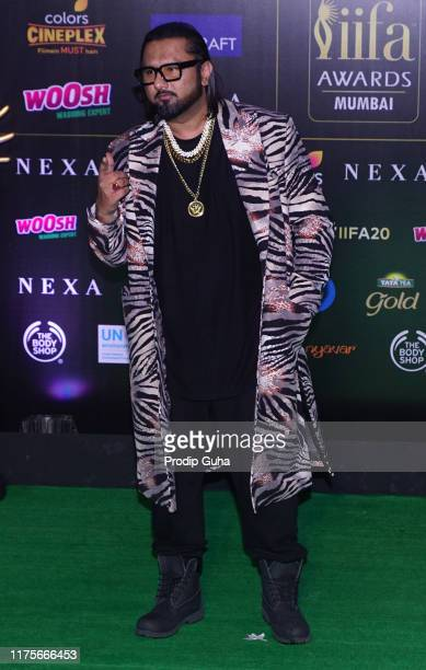 Playback singer Honey Singh attend the 20th IIFA award on September 18 2019 in Mumbai India