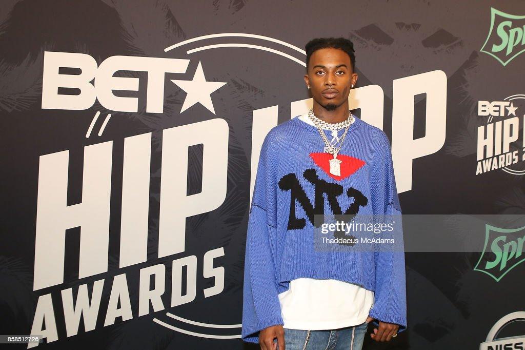 Playboi Carti attends BET Hip Hop Awards 2017 on October 6, 2017 in Miami Beach, Florida.