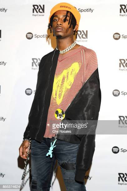 Playboi Carti attends Spotify's RapCaviar Live in Toronto at Rebel Nightclub on September 28 2017 in Toronto Canada