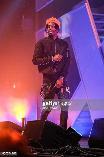 Playboi Carti attends Spotify's RapCaviar Live in Toronto at Rebel Nightclub on September 28 2017 in Toronto Canada