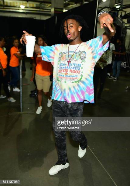 Playboi Carti attends the Hot 1079 Birthday Bash at Philips Arena on June 17 2017 in Atlanta Georgia
